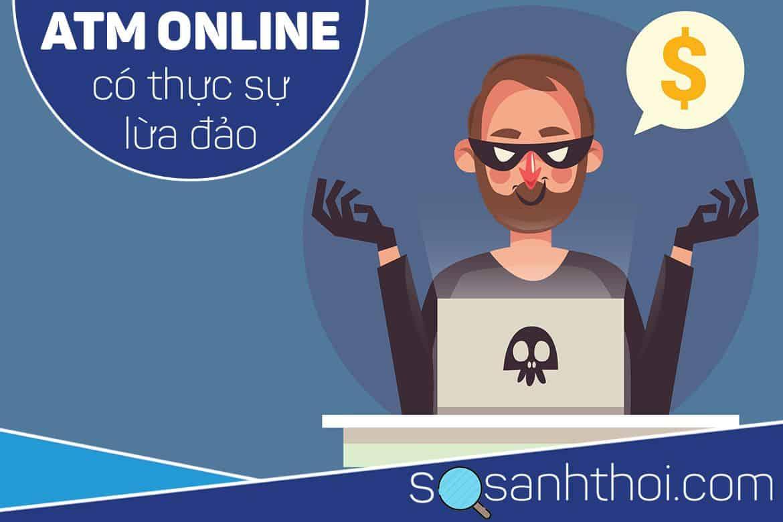 ATM Online lừa đảo