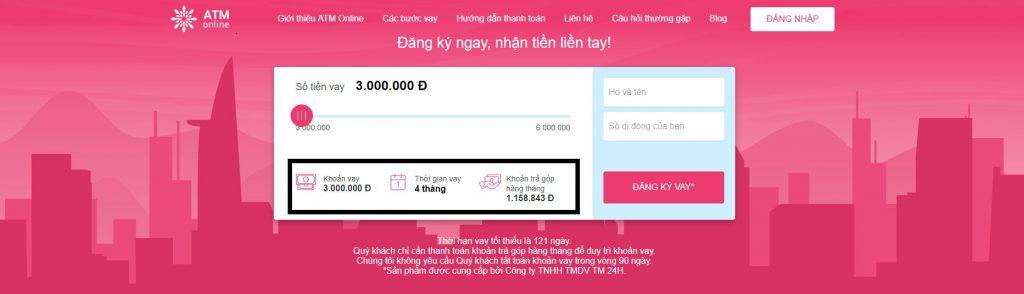 Vay tiền ATM Online không trả có bị gì không?