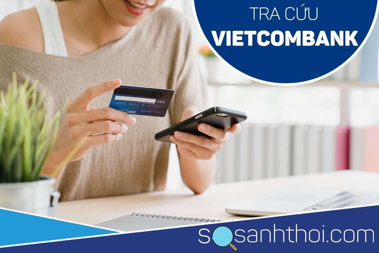 Số tài khoản Vietcombank ghi ở đâu?