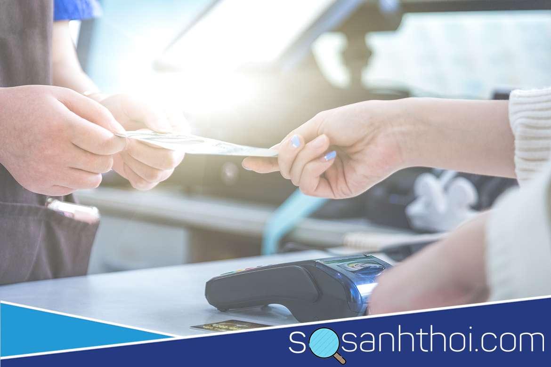 Nếu bạn đang giao dịch chuyển tiền thì số tài khoản Vietcombank ghi ở đâu?