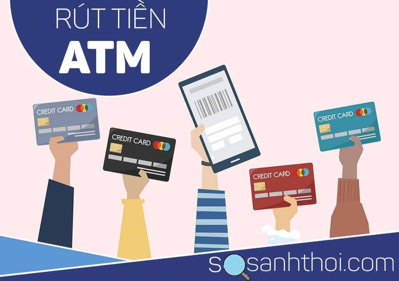 cách rút tiền ATM sacombank