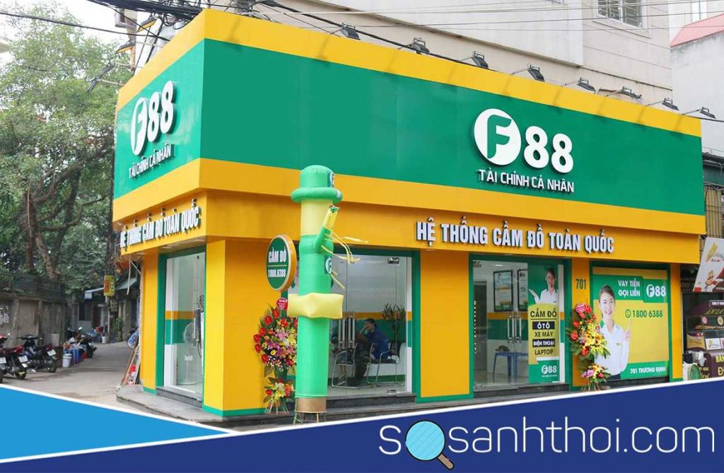 F88 là công ty tài chính hay là ngân hàng?