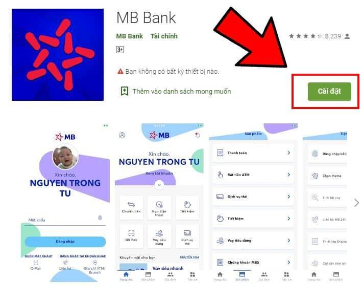tải app mb-bank