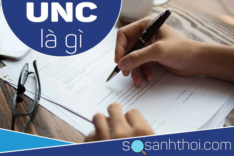 UNC được viết tắc bởi cụm từ nào?